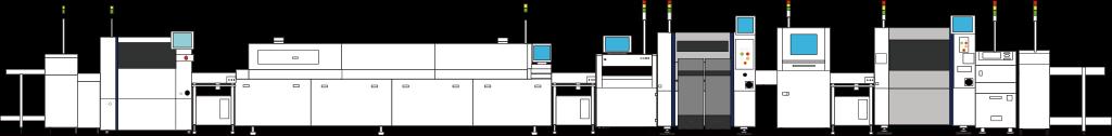 参考ライン:高品質生産設備